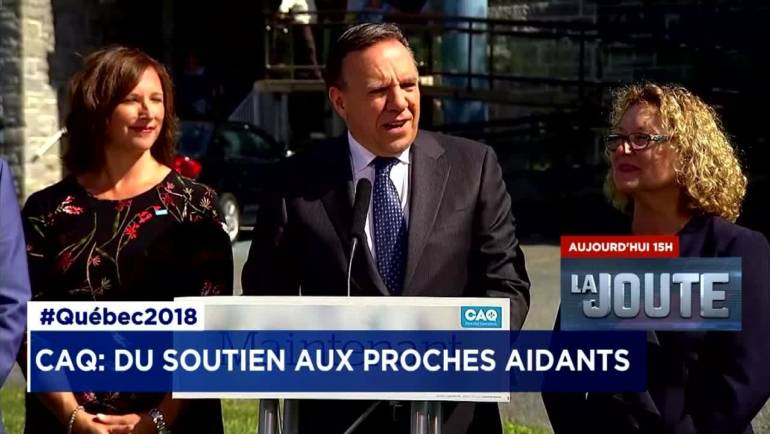 Communiqué de presse – Élection d'un gouvernement de la CAQ majoritaire : Une politique de soutien aux proches aidants en priorité